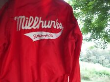 Vintage Millhunk Pittsburgh, Pa Bowling League Jacket West Wind Size M