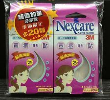 100pcs 3M Nexcare Acne Pimple Zit Sticker Small Dressing Heal Patch Extra Pack