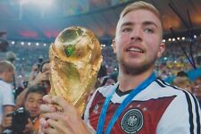 CHRISTOPH KRAMER 4 DFB WM 2014 Gladbach Foto 13x18 signiert IN PERSON Autogramm