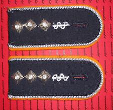 Schulterklappen Rangabzeichen Luftwaffe Jacke Stabsarzt annähbar getragen ##75