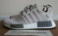 DS Womens Adidas NMD R1 Raw White size 9 cream beige running shoes boost EE5182