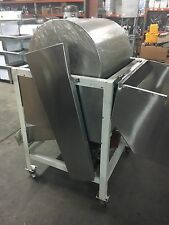 Barrel roaster mixer corn coating machine butter candy popcorn