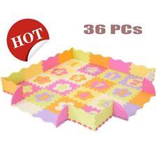 Baby 36Pcs Kids Play mat Room Number Foam Crawl Playing Floor Mat Jigsaw Puzzle