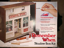 1970s Comet Remember When General Store Shadow Box Kit, New Other