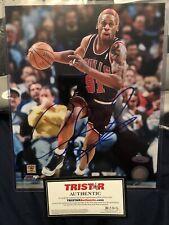 "Dennis Rodman RARE Signed 8""x10"" Photo!Tristar Certified, JSA/PSA"