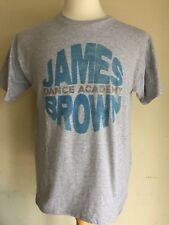 "JAMES BROWN DANCE ACADEMY ""Godfather of Soul"" Official T-Shirt Size Medium"