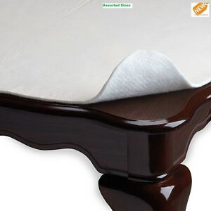 Cushioned Dining Table Pad Protector  With Flannel Backing Desk Hot Tea Pads