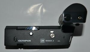 Olympus OM Winder 2 for Olympus OM SLR Cameras - Immaculate condition