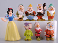 8PC Set Disney Figures Snow White and the Seven Dwarfs Anime Kids Toy Xmas Gift