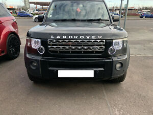 Land Rover Discovery 3 Headlight Conversion to 2013 Staggered LED Spec