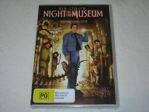 Night At The Museum - Ben Stiller - Brand New & Sealed - Region 4 - DVD