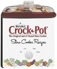 Rival Crock Pot Cookbook by Publications International Ltd. Staff (2005,...
