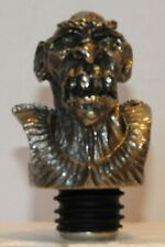 Orc Bust Lord of the Rings Royal Selangor Pewter Bottle Stopper