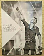 Manuel Carrasco - La Cruz del Mapa - Directo Estadio Metropolitano 3CD + DVD New
