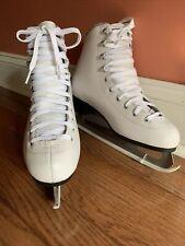 "New listing Lake Placid White Women's Ice Skates - Size 8 ""New� Super Soft Lining"
