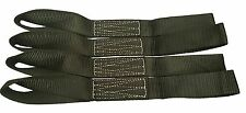 "Soft Loops Motorcycle Tie Down Straps, 10,500 pound Break Strength 17"" x 1.75"""
