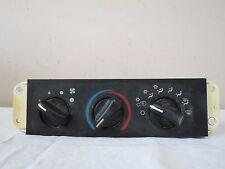 02-04 Jeep Wrangler 4.0L L6 AC Heater Climate Control Module Unit OEM 55037612AA