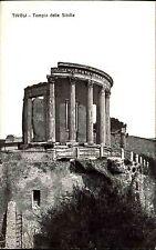 Tivoli Italien Italy ~1910 Sibyllen Tempel Temple of Sibilla Tempio ungelaufen