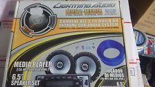 New Lightning Audio Car Audio Tuning Kit Car Cd player, MP3,Aux w speakers TKMM
