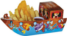 Kids Party FOOD BOXES lolly loot box Pirate Boat - 10 Pack