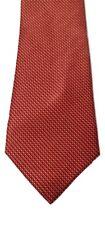 Nautica 100% Silk Red Handmade Geometric Dotted Print Men's Neck Tie