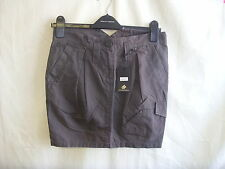 "Ladies Skirt - Criminal Clothing, size S 30""W, RRP £35, brown, BNWT - 1248"