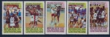 Central Africa 1979 - Sports Summer Pre-Olympics Games Moscou 1980 Sc 403/7 -MNH