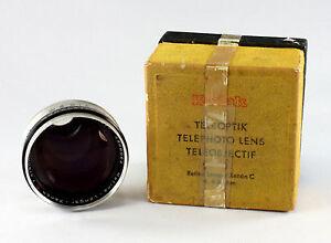 Kodak Retina Schneider Xenon Lens 4/80 mm, in original box