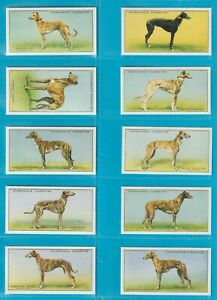 Churchman cigarette cards - RACING GREYHOUNDS - Full set. Excellent condition