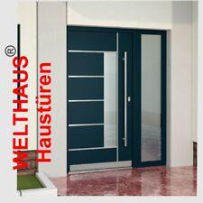 Welthaus Haustür Türen WH75 Aluminium mit Kunststoff Tür LA40 +1 Seitenteil
