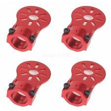 4Pcs Red Aluminium Alloy Motor Mount Holder for 16mm Glass/Carbon Fiber Tube