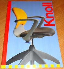 catalogue publicite siege de bureau knoll design