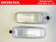 HONDA GENUINE CIVIC EK9 TYPE-R Front Fender Side Turn Marker Lamp Light Set OEM.