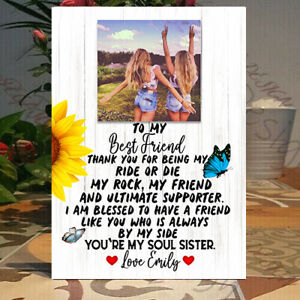 Best friend gift, Personalised Best Friend frame, best friend gift idea, Plaque