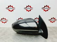 2009 NISSAN QASHQAI J10 MK1 FRONT RIGHT DRIVER SIDE OFFSIDE WING MIRROR IN BLACK