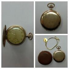 Orologio da tasca dorato con catena per orologi orologio carica manuale