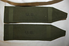WW 2 US Military Issue  Army Shoulder Strap Pads Kroehler Mfg. Co. 1945 Set of 2