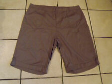 BNWT Attitude Unknown Olive Knee Length Casual Shorts sz 24W