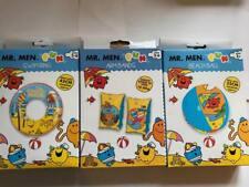 Kids Mr Men Inflatable Swim Ring Arm Bands & Beach Ball Swimming