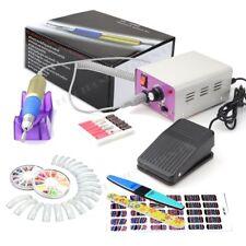 30,000 Rpm Eléctrica De Acrílico Arte en Uñas Manicura taladradora de archivo + Pedal De Pie