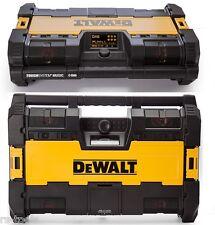 DEWALT Toughsystem CHANTIERS DE CONSTRUCTION RADIO DAB+ XR Chargeur 10,8V 14,4V