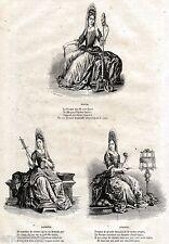 Cloto,Lachesi,Atropo: Le Tre Parche del Destino.Figlie di Temi,La Giustizia.1853