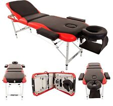 Ultra Light Aluminum Portable Massage Table Facial SPA Bed Tattoo Carry Case