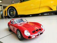 Modellauto Ferrari 250 GTO Rot Scale 1:18 von Burago