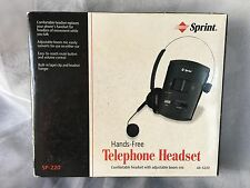 Sprint Hands Free Telephone Headset SP 220 Super Lightweight 43-5220 New