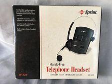 Sprint Hands Free Telephone Headset SP 220 Super Lightweight 43-5220 New