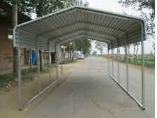 single steel carport shelter 33x6m yard backyard shelters portable carports