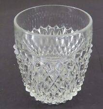 Indiana Glass Clear Diamond Point 8 oz Tumbler Cup