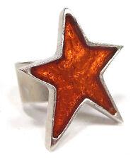 Modeschmuck-Ringe im Cocktail-Stil mit Stern-Schliffform für Damen