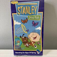 Stanley Spring Fever Vintage VHS - Kids Playhouse Disney Video Cartoon